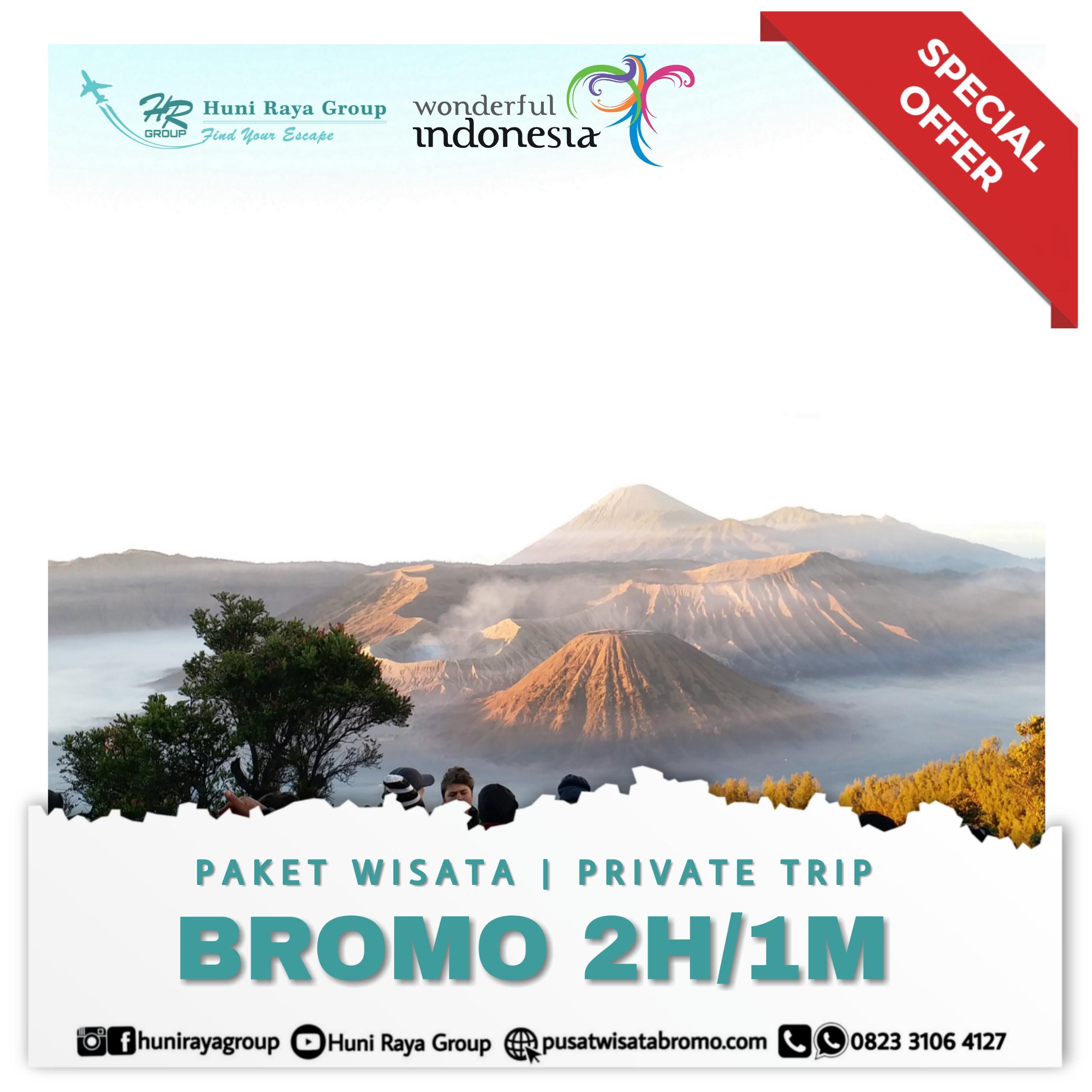 paket wisata bromo 2 hari 1 malam dari malang atau surabaya terbaru